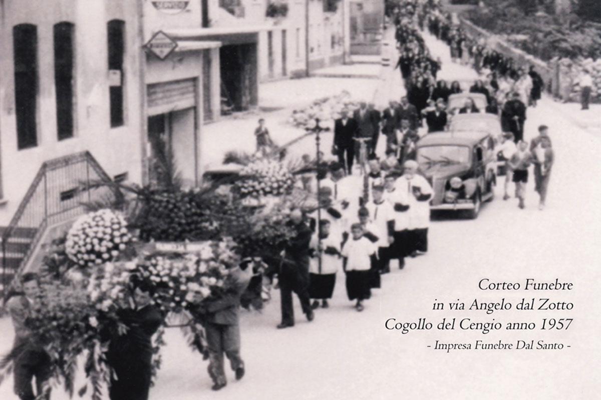 foto storica dal santo onoranze cogollo